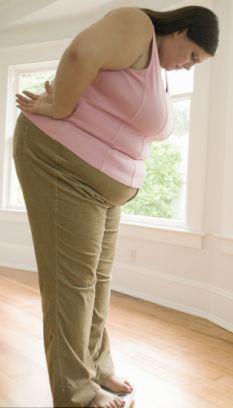 人体 矢量图 肥胖