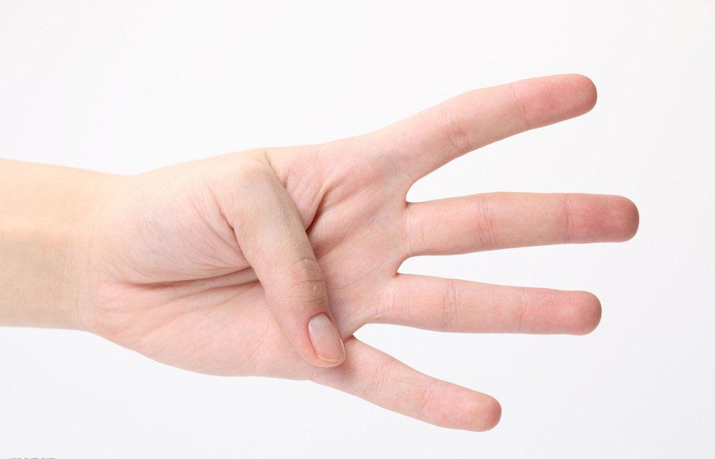 手指向上表情符号分享展示